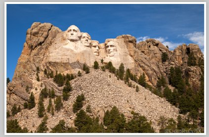 Mount Rushmore South Dakota by Chris Ryan