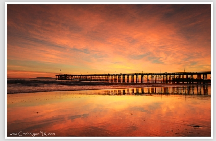 Color Splash at the Ventura Pier